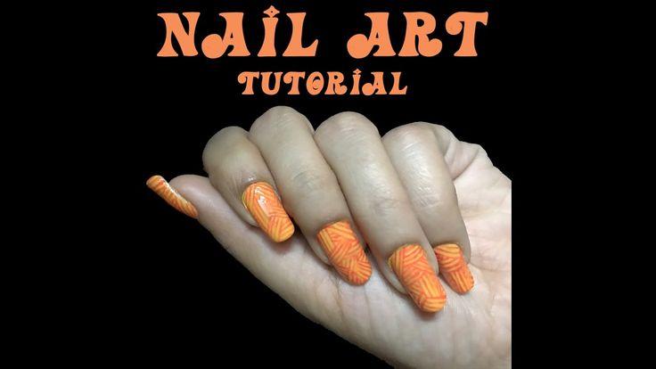 Nail Art | Easy Nail Designs | DIY Two Colors Nail Ideas