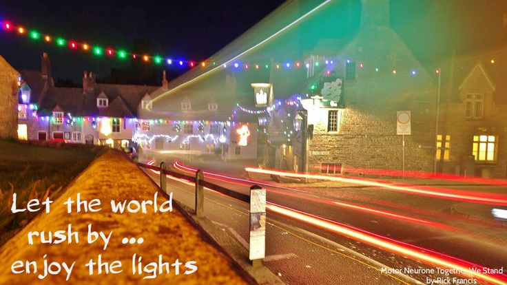 Corfe Castle Dorset  Take Time for Christmas Lights