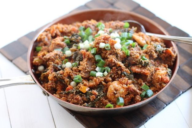 Quinoa Kale Jambalaya | 32 Ways To Eat Quinoa And Succeed In Life