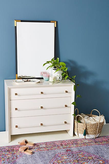Anthropologie Merriton Three-Drawer Dresser