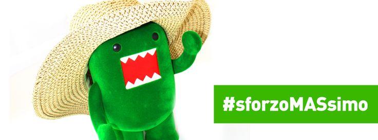 Campagna di sostegno verso chi RIENTRA IN UFFICIO questa settimana! #sforzoMASsimo