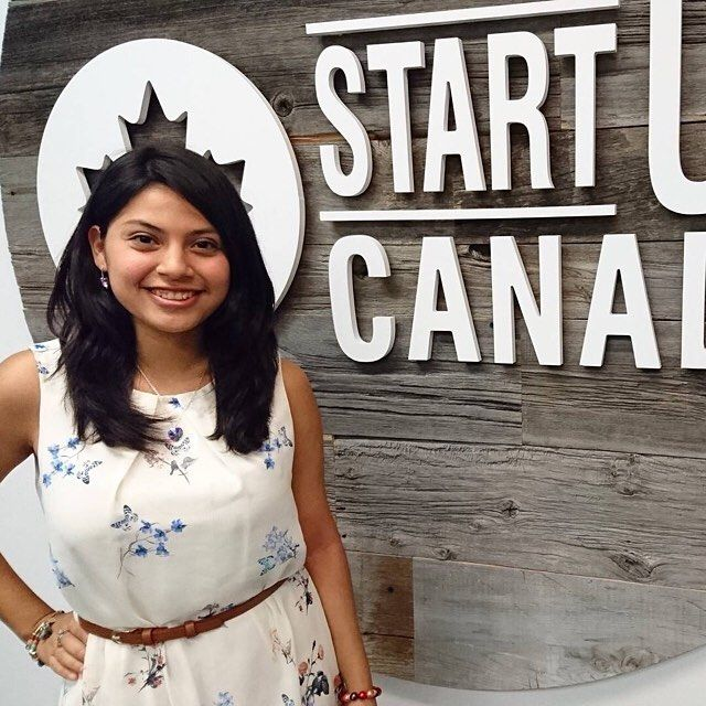 A relatively new addition to the Startup Canada team at HQ in Ottawa! Maria Gracia Ponduro is from Peru was raised in Madrid lives in London and is now working for the summer in Canada! She's currently completing her first year study in International Business with French at the University of Greenwich.  From a young age Maria's been passionate about helping people through social development and is now following her dream of helping women affected by poverty in Peru.  Her vision is called…