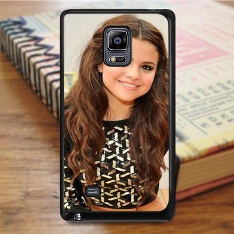 Selena Gomez Beautiful Smile Samsung Galaxy Note 4 Case