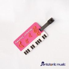 Musical Journey ID Tag - Pink