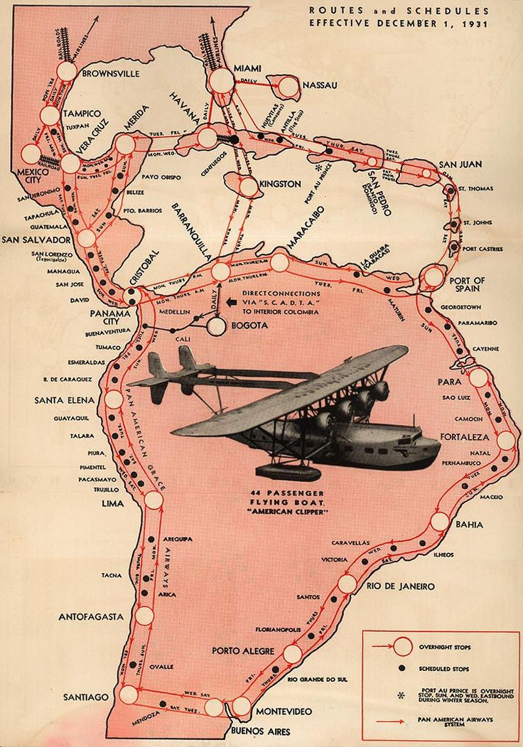 More old airline route maps. Indiana Jones!
