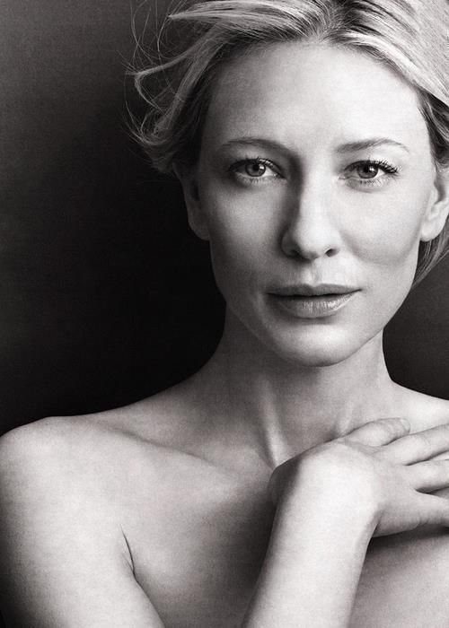 Cate Blanchett exudes nobility, strength, courage, intelligence, grace.