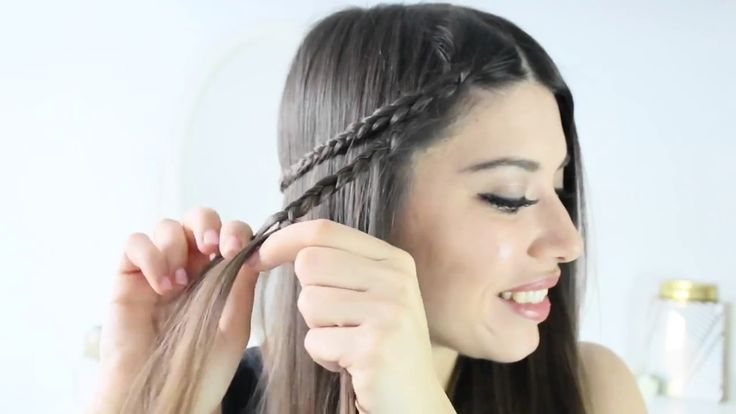 Katani Show   Beautiful & Easy Boho Hairstyle in 3 Min! Summer Music Fes...