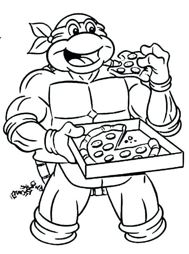 Top 15 Pizza Coloring Pages Only Coloring Pages Turtle Coloring Pages Ninja Turtle Coloring Pages Coloring Pages