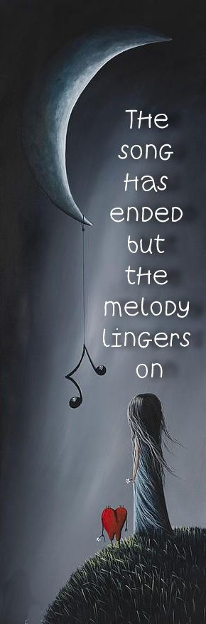 Your melody will linger forever.......