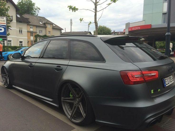 Audi Rs6 Avant Slammed Bagged Audi Rs6 Avant