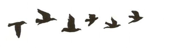 Bird Silhouette tattoos | Things I
