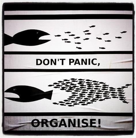 Don't panic... Organise!