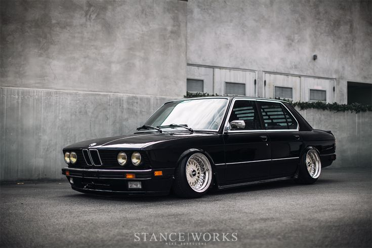 """StanceWorks Revisits: Riley Stair's BMW E28 """"540i"""""""