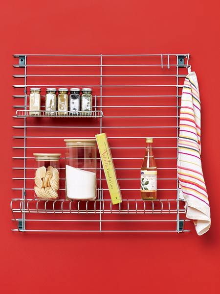 A Customized Steel Storage System Can Hold Almost Anything You Want It To Large Grid Kitchen Wall
