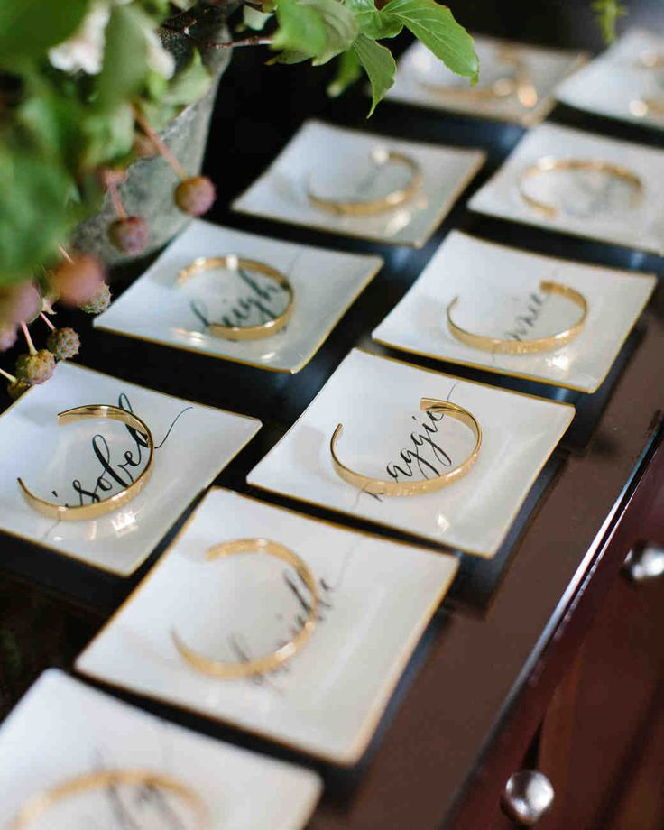 Show bridesmaids, groomsmen, maids of honor, best men, even the flower girls and ring bearers how much you appreciate them with one of these bridal party gift ideas from real weddings.