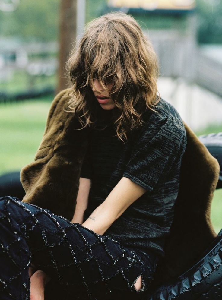 Freja Beha Erichsen for Dossier Journal F/W 2010 by Cass Bird