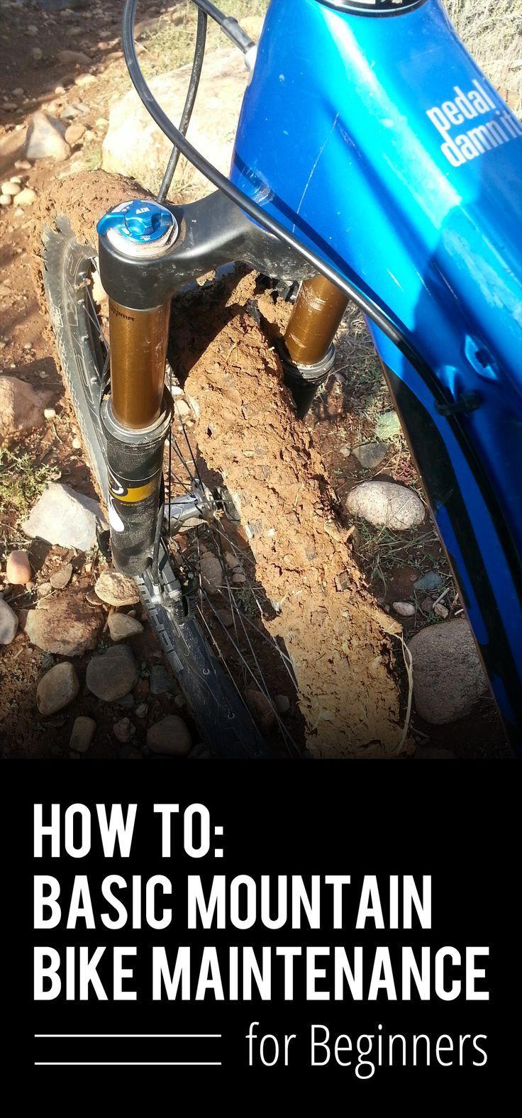 How to: Basic Mountain Bike Maintenance for Beginners