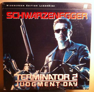 "Arnold Schwarzenegger Signed Laser Disc  Hand-signed by Arnold Schwarzenegger ""Terminator 2 - Judgment Day"" Laser Disc. Rare hard-to-find collector item.  This incredible item is guaranteed to pass any third party authentication & we gladly offer a money back guarantee."