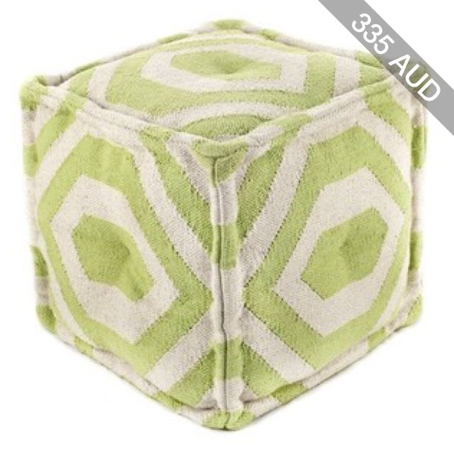 nuLOOM Furniture Cotton Pouf
