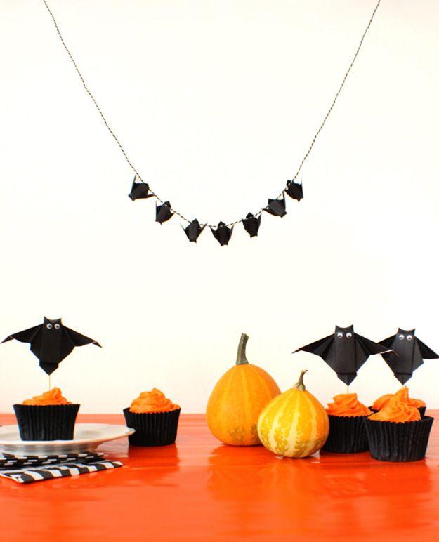halloween decorations origami