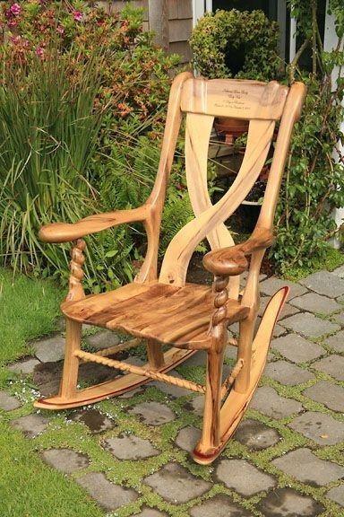 экзотические кресла-качалки: