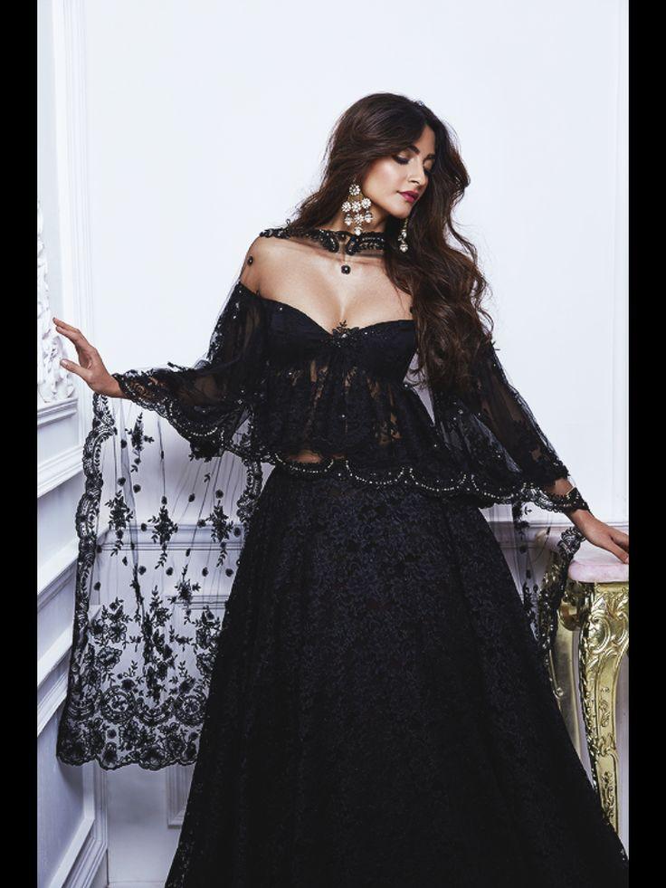 Sonam Kapoor - Photoshoot for Shehlaa Khan (April 2017