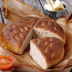 Kalljäst bröd som passar utmärkt till frukost.