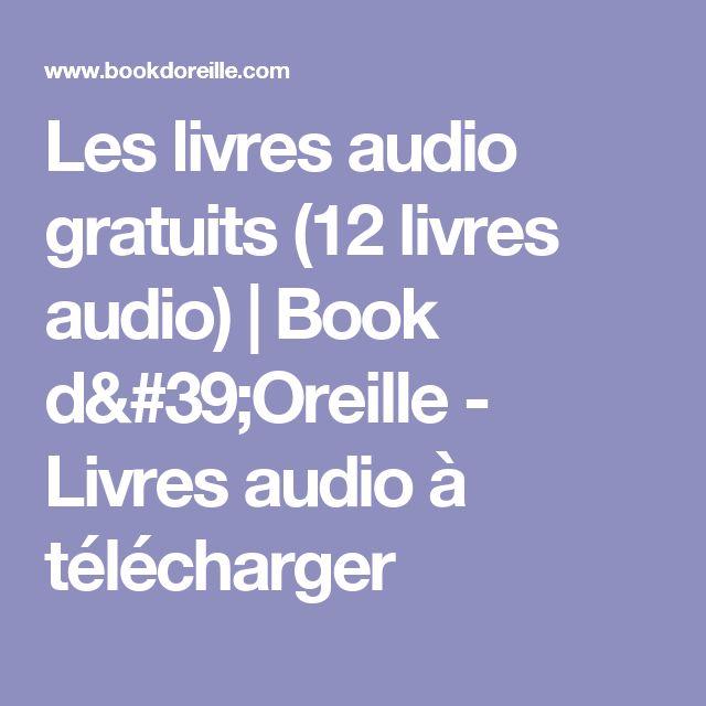 Fabuleux Plus de 25 idées uniques dans la catégorie Telecharger livre audio  PA21