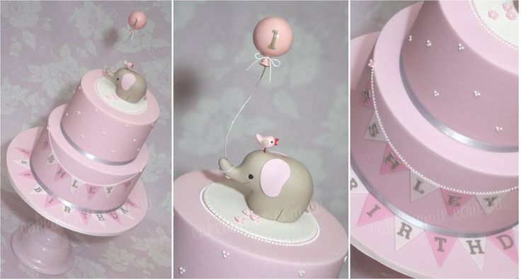 Baby Shower Cakes With Baby Topper