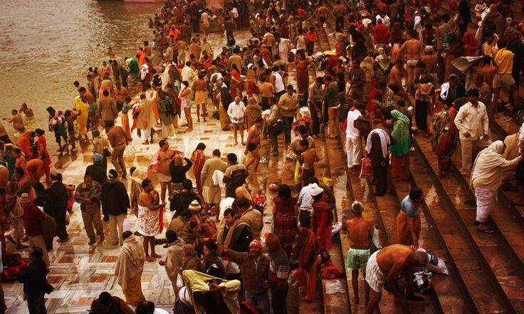 This rare and auspicious event takes place in Prayag, Allahabad, and is one of the 5 types of Kumbh Melas. The last time this religious event transpired was in the year 2013. It witnessed around 40 million devotees and could be seen from space! #IndeedIndia #Travel Photo Credits: Alexandre Marchand