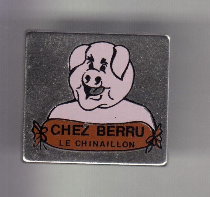 RARE PINS PIN'S .. ANIMAL COCHON PORC PIG RESTAURANT BERRU LE CHINAILLON 74 ~CX | eBay!