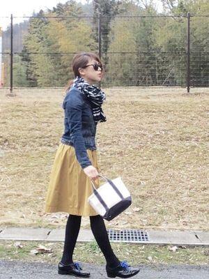 男子ウケがいい!20代後半~30代女子の春・秋モテファッションコーデ集 - NAVER まとめ