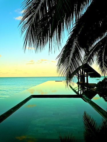 Infinity Pool, The One and Only Resort Reethi Rah, Maldives (by Sarah Ackerman via Flickr) #jetsettercurator