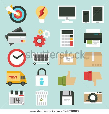 Icon Set Stock Photos, Images, & Pictures | Shutterstock