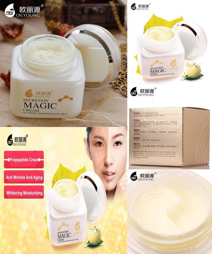 [Visit to Buy] Face Creme Argirelin Peptides Placenta Cream Ageless Youth Instant Face Lift Cream Anti Wrinkle Anti Spot Skin Whitening Serum #Advertisement