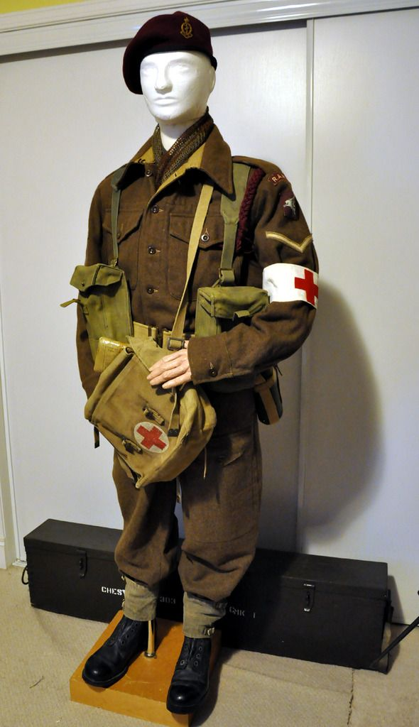 British Paratrooper Uniform 116