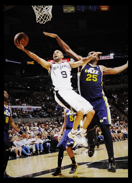 Tony Parker scored 28 points to lead the Spurs to a victory in Game 1 against the Jazz today, 106-91.