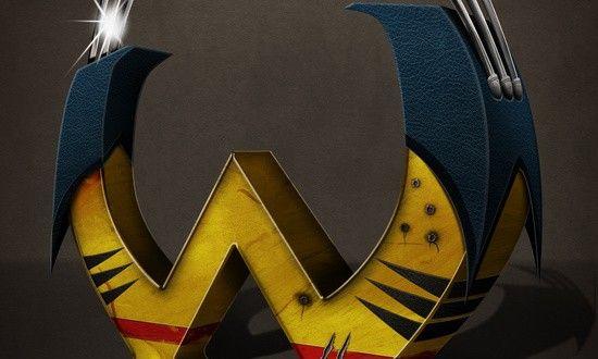 Superbet: letras de superhéroes, por Simon Koay