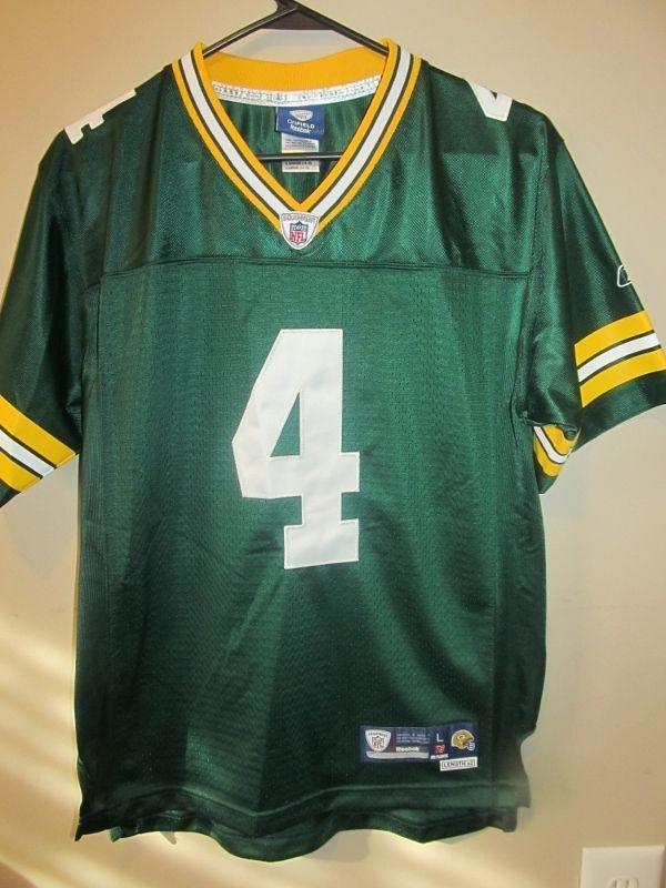 cheap for discount d6a80 5ac20 brett favre green bay packers jersey ebay