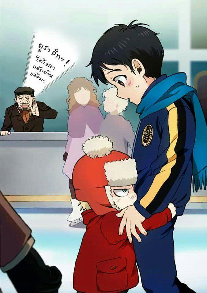 We all know Yurio actually likes Yuuri
