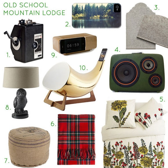 Winter design trends in home tech accessories old for Mountain home design trends