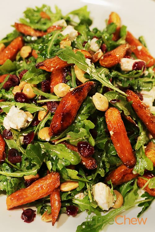 Ina's Maple-Roasted Carrot Salad is our newest favorite salad, and will be yours, too!