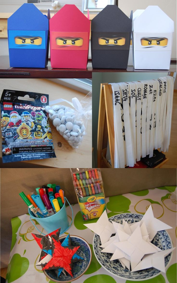 I know I say this for every kids' party we throw, but this one might be my favorite! For his seventh birthday my oldest's request was Ninj...