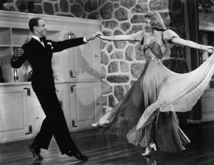 """FRED ASTAIRE, GINGER ROGERS in Amanda.   Long métrage produit en 1938, réalisé par Mark Sandrich. Original title: Carefree (""""Dance Comigo"""", 1938)."""