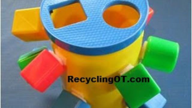 """I have been using what I call """"Velcro bottles"""" for over 30 years! They are easy to make and all you need is a bottle, sticky back Velcro and shapes,"""