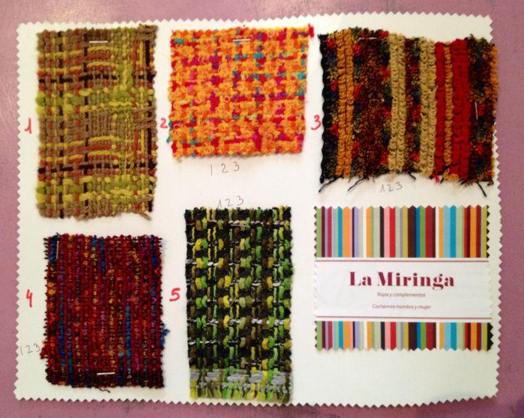 Ya tenemos las telas para los bolsos de La Miringa!! Ven y elige la tuya!