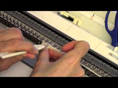 ▶ Ruched Cable Trim by Diana Sullivan - YouTube