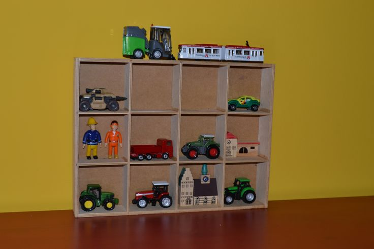 Our IKEA hack toy display cabinet