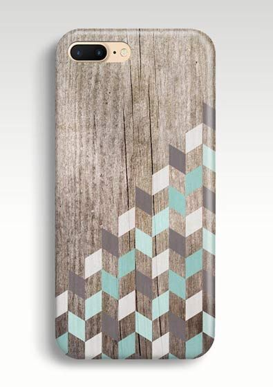 iPhone 8 Case iPhone 7 Plus Case iPhone 8 Plus Case, iPhone X 6 6S Plus SE 5S 5C Case, Mens iPhone 7 Plus Phone Cases, Geometric Galaxy S8, S7, S6 Case Mint Chevron Phone Cover, Gift for Him