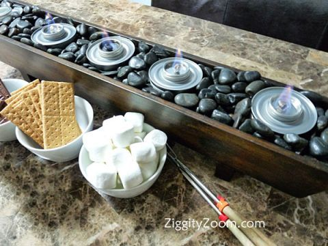 Easy Smores Bar to Make | Ziggity Zoom